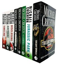 Michael Crichton Collection Lost World 8 Books Pack Set Inc Andromeda