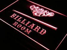 """16""""x12"""" s082-r Billiard Pool Room Bar Beer Neon Sign"""