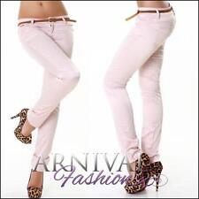 Straight Leg Viscose Regular Size Pants for Women