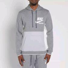 0cfa5900cc28 New ListingXL MEN S NIKE Nike Archive Pullover Hoodie 932457 091 HEATHER  GRAY WHITE JACKET