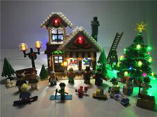 USB LED Light Set Fit To LEGO Block Winter Toy Shop set 10249 Christmas Gift