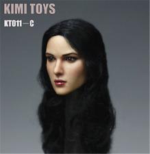 "KIMI TOYS KT011C Female Head Sculpt 1/6 Scale F 12"" PHICEN TBLeague Figure Toys"