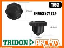 TRIDON TUEC1 - EMERGENCY CAP - PLASTIC PUSH IN SHORT TERM SEALING FUEL OIL