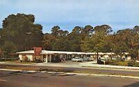 New Smyrna Beach Florida~Smyrna Motel~US 1 North Dixie Freeway~1950s Cars~PC