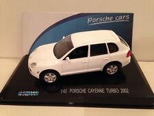 PORSCHE CAYENNE TURBO 2002 blanc 1:43 echelle 711 COLLECTION NOUVEAU