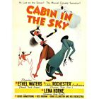 Advert Movie Film Musical Cabin Sky Comedy African American 12X16 Framed Print