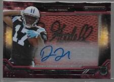 2015 Topps Strata Devin Funchess Pigskin patch Commissioner Auto Rc True 1/1