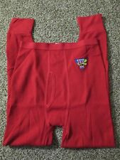 Nwots Winston Cigarette Branded Red Long Johns Thermal Underwear Large Usa Made