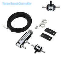 Car Racing 1-30PSI Adjustable Manual Turbo Boost Controller Bleed Valve Black