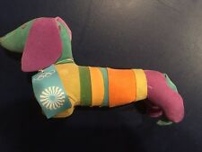 1972 Munich Olympics Waldi Dog Mascot Rare Vintage with Original Tag Olympische