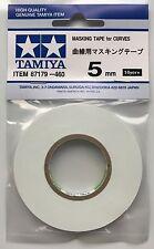 Tamiya 87179 Masking Tape for Curves 5mm Width NIP