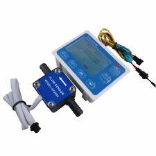 """3/8"""" Flow Control LCD Display+Oil Fuel Gasoline diesel Milk Water Gear Sensor"""