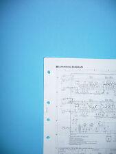 Schema di servizio per Yamaha k-350, ORIGINALE
