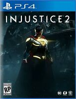 "Injustice 2 Standard Edition - PS4 - Brand New | Factory Sealed ""US VERSION"""