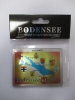 Bodensee Premium Souvenir Magnet,Deutschland Germany,Laser Optik !!