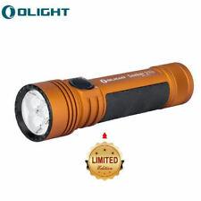 Olight Seeker 2 Pro 3200 Lumen LED Flashlight EDC Torch (Limited Edition Orange)