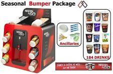 Nescafe and Go Machine & 2Go Bumper Seasonal Package 1600+ items Drinks Vending