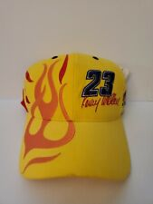 Kenny Wallace Stacker 2 Vintage NASCAR Racing Adjustable Hat | Yellow | NWT!!
