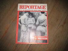 REPORTAGE n°7 le problème de la prostitution