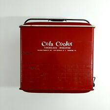 Vintage 1950's Cola Cooler Poloron Products Fiberglass Insulated Rochelle, NY