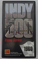 1960 Indianapolis 500 VHS Tape Jim Rathmann Ken-Paul Watson / Offy