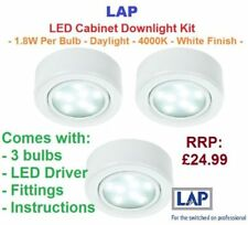 Metal Electric/Wall Plug - in LED Light Fittings