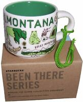 Starbucks Montana Been There Series, 2 Ounce Espresso, Cappuccino Cup, Ornament