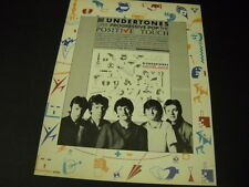 Undertones give progressive pop the positive touch 1981 Promo Poster Ad mint con