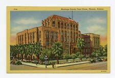 Maricopa County Court House in Phoenix, Arizona. Color Linen Postcard