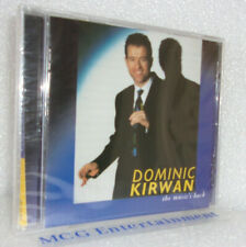 Dominic Kirwan, The Music's Back (CD Album) Irish Country - New/Sealed