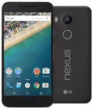 "LG NEXUS 5x h791 LTE Smartphone Android 5.2"" 16gb BLACK NUOVO in White Box"