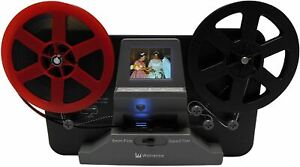 Wolverine 8mm and Super 8 Film Reel Converter Scanner to Convert Film into Digit