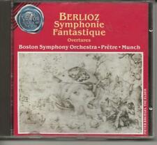 BERLIOZ Symphonie Fantastique cd Pretre Boston Symphony Orchestra 1990 (1969)