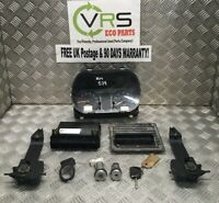 02 05 FORD FIESTA MK6 3DRHB 1.2 16V 75BHP ECU BSI KEY SET KIT REF HM539 #4719