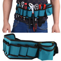 Tool Bag Pocket Electrician Waist Screwdriver Utility Kit Holder Belt Pouch New