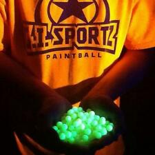 .50 Cal. G.I. Sports Craze UV Glow in the Dark Paintballs 500 /bag