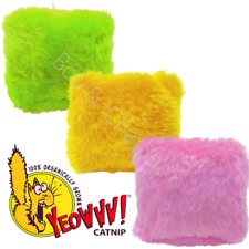 Yeowww - PILLOWS  100% Filled with Catnip -Toys That Actually Work !