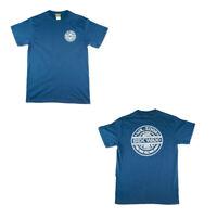 Sex Wax Mr Zogs Surf Shirt Short Sleeve Pinstripe Cobalt Blue