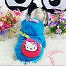 Small Puppy Clothes Winter Dog Hoodie Coat Pet Cat Costume Poodle Warm Sweater