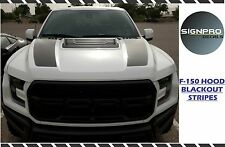 Ford F150 F-150 Raptor SVT 2017 Hood Blackout Tech Graphics kit Decal Sticker