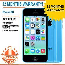 Apple iPhone 5C 32GB Factory Unlocked - Blue