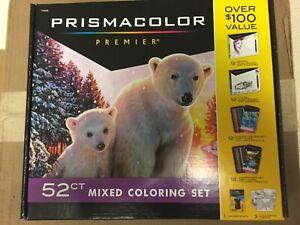 Prisma Premier Gift Set Prismacolor 52 PC Premium Color Art Markers Pencils