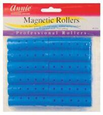 Annie 1.6cm Bleu Magnétique Rouleaux 12 Ct. 1351