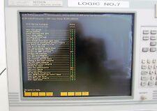 HP/AGILENT 16702A-LOGIC ANAL.SYST.-1xAGIL.16557D & 2xHP 16555A-POWER ON-USED-III