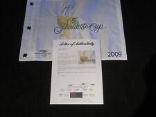 Ryo Ishikawa Signed 2009 Presidents Cup Pin Flag Psa/Dna Harding Park Sf