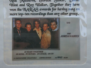 Elvis Presley RARE PHONE CARD W Jordanaires Collectable Limited Edition #/30,000