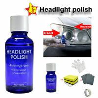 Car Headlight Polishing Fluid Restoration Kit Auto Car Scratch Coating Repairing