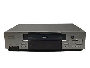 Akai VCR Video Cassette Recorder VS-J215EA - Intelligent HQ - PAL/NTSC Play Back