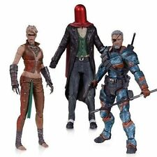 2014 DC Direct Collectibles Arkham Origins Video Game 3pk Red Hood Joker Loose