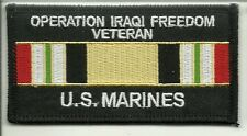 Marines Operation Iraqi Freedom Veteran PATCH